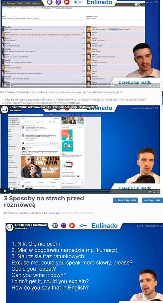 Przykładowe wideo Enlinado